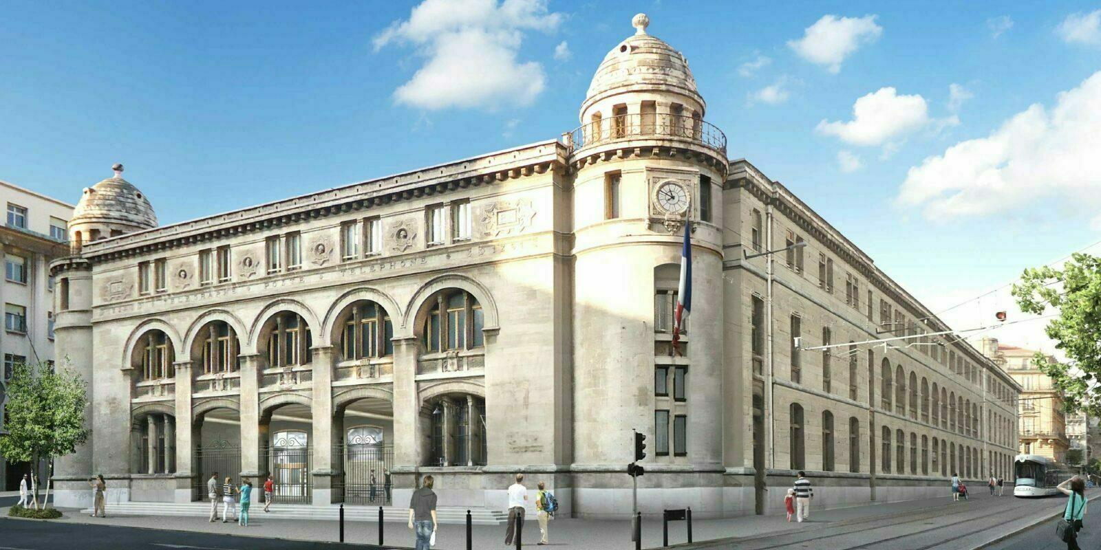 Image De Synthèse La Poste Colbert à Marseille