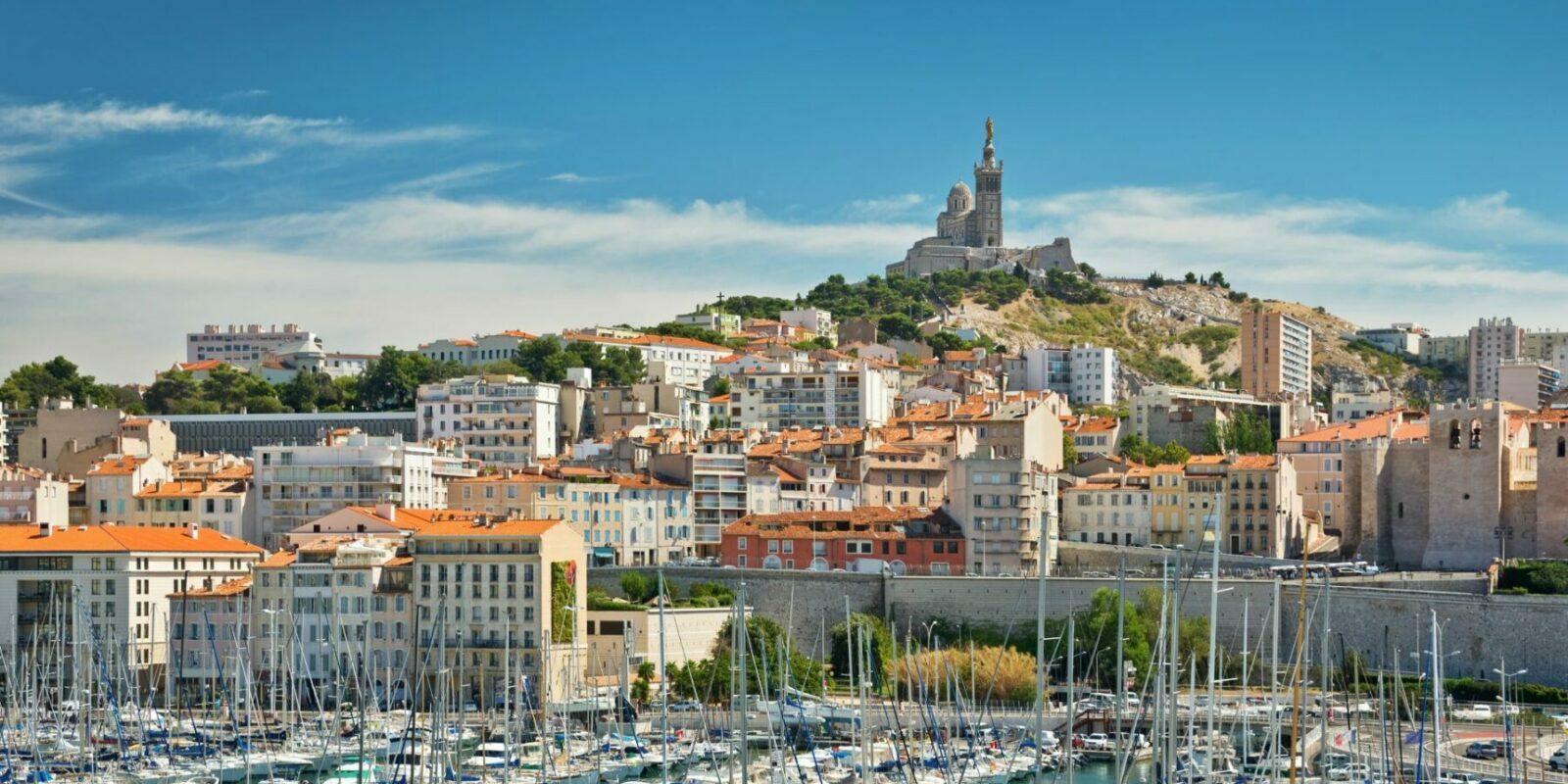 Marseille Vue Du Vieux-port